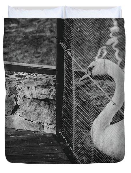 Jail Duvet Cover