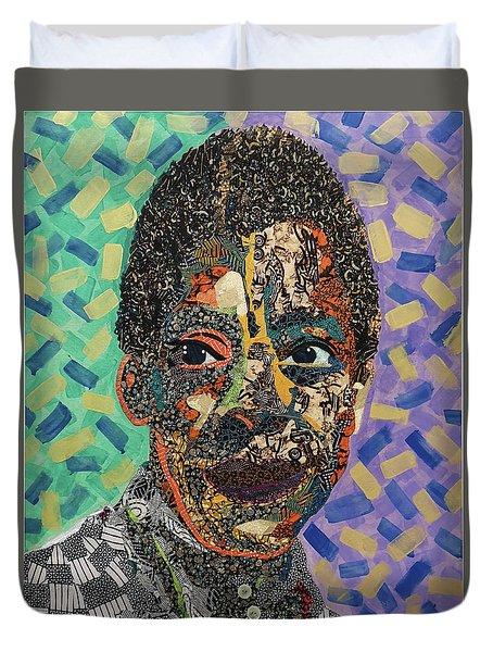 James Baldwin The Fire Next Time Duvet Cover
