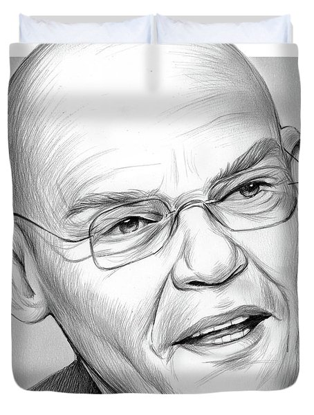 James Carville Duvet Cover