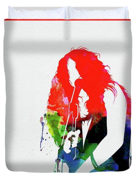 Janis Watercolor Duvet Cover