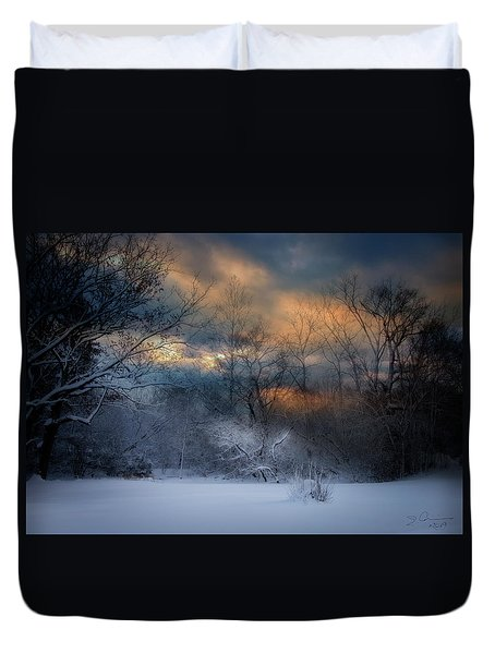 January Michigan Duvet Cover