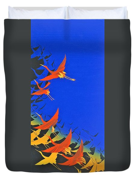 Japanese Modern Interior Art #122 Duvet Cover