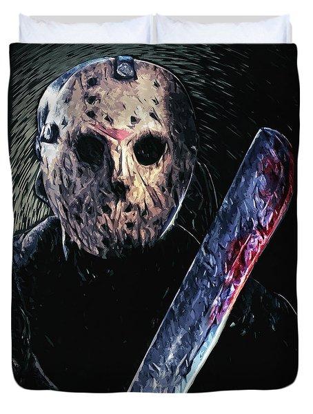 Jason Voorhees Duvet Cover