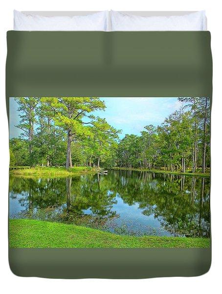 Jessamine Pond Duvet Cover