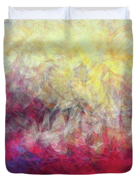 Jesus Christ, Rose Of Sharon. Song Of Solomon 2 1 Duvet Cover