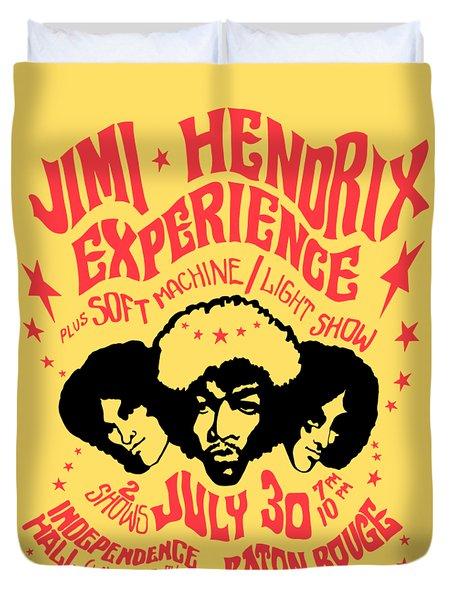 Jimi Hendrix Experience Duvet Cover