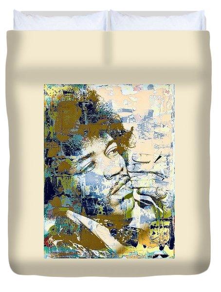 Jimi Soul Duvet Cover