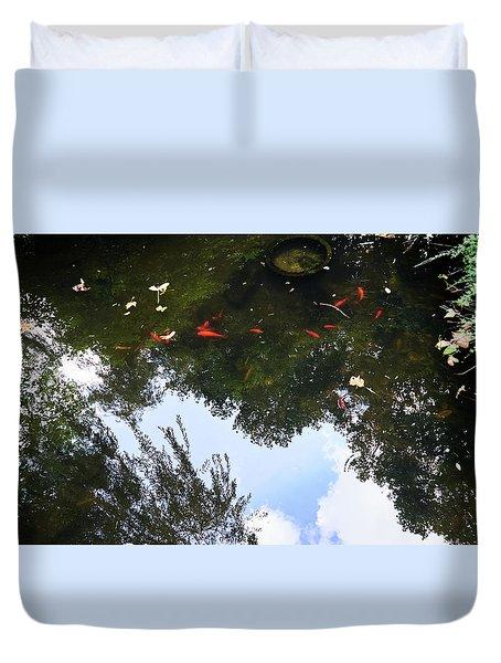 Jing An Park II Duvet Cover