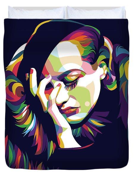 Joan Crawford Duvet Cover