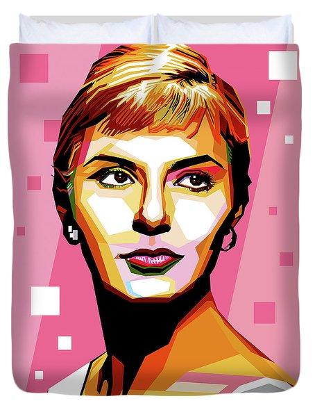 Joanne Woodward Duvet Cover