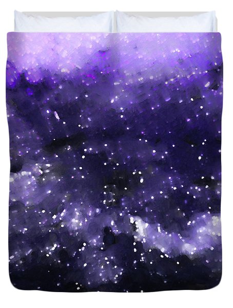 John 1 5. Overcome Duvet Cover