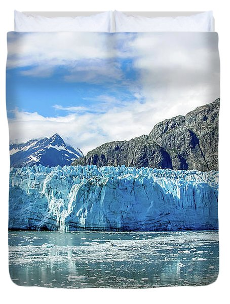 John Hopkins Glacier 1 Duvet Cover