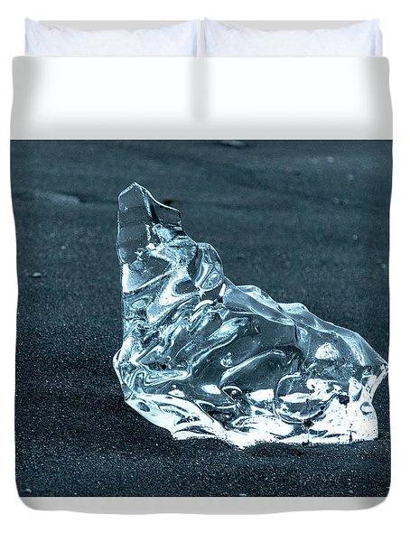 Jokulsarlon Diamond Duvet Cover