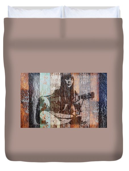 Joni Mitchell Duvet Cover