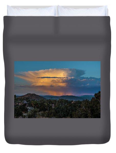 Joshua Tree Thunderhead Duvet Cover