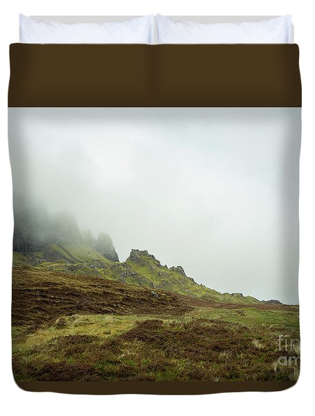 Journey To The Quiraing Duvet Cover