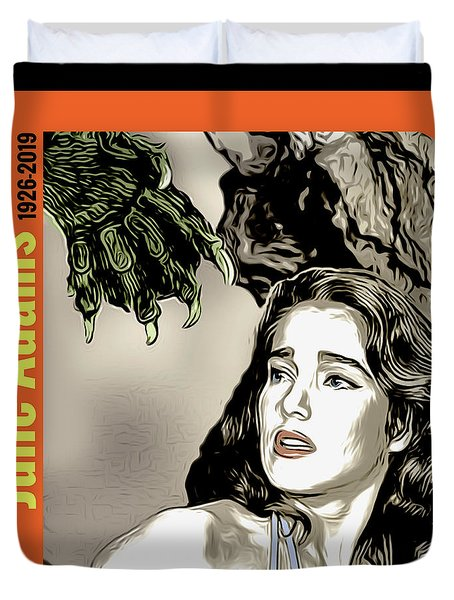 Julie Adams Tribute Duvet Cover