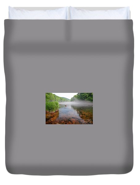 June Morning Mist Duvet Cover