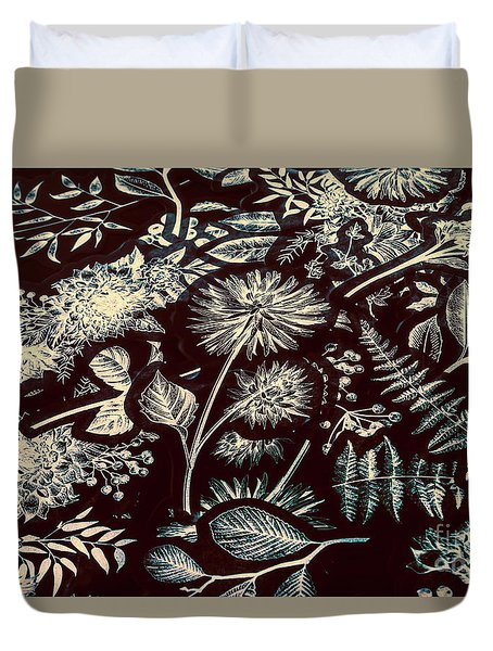 Jungle Flatlay Duvet Cover