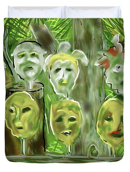Jungle Spirits Duvet Cover