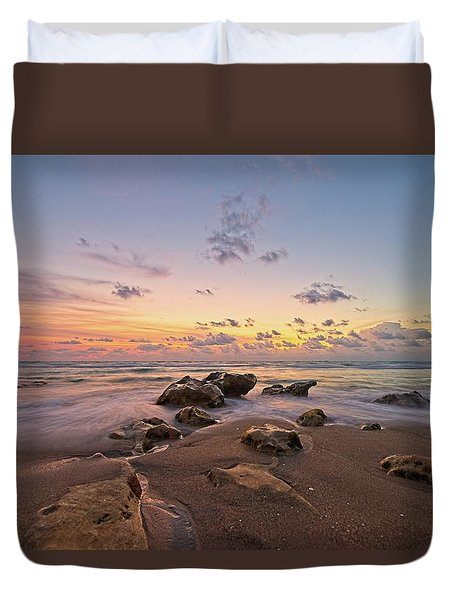 Jupiter Beach 2 Duvet Cover