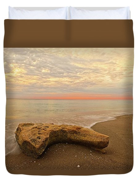 Jupiter Beach Duvet Cover