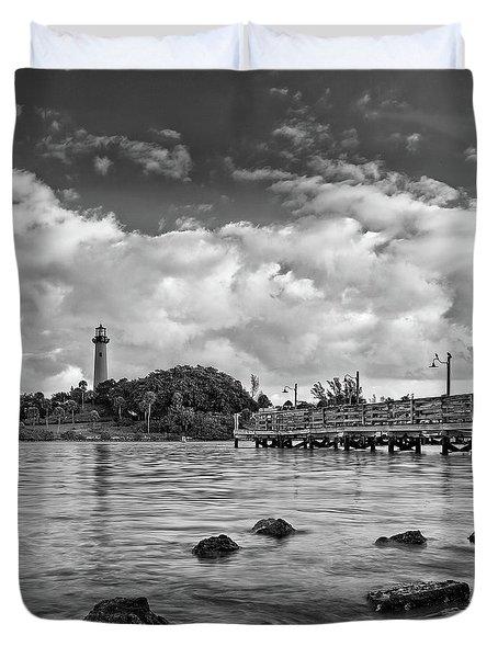 Jupiter Lighthouse 2 Duvet Cover