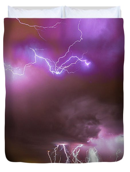 Just A Few Bolts 001 Duvet Cover