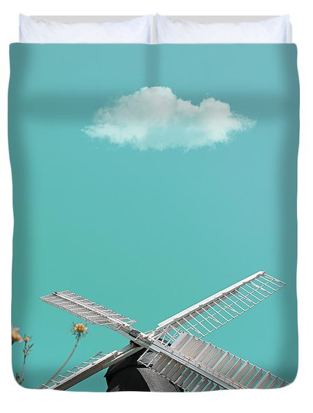 Just Breathe Duvet Cover