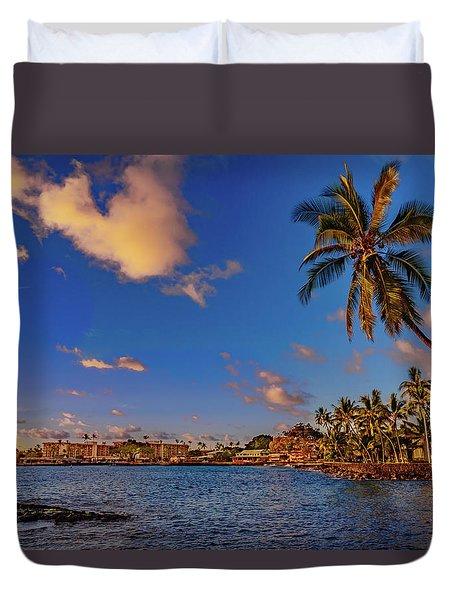 Kailua Bay Duvet Cover