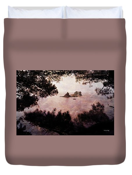 Duvet Cover featuring the photograph Katic And Sveta Nedelja by Randi Grace Nilsberg