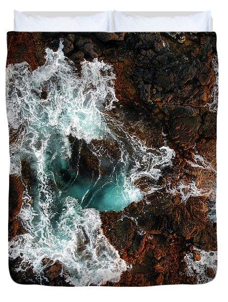Keahole Aerial Duvet Cover