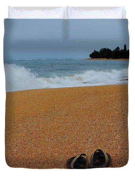 Ke'e Beach Duvet Cover