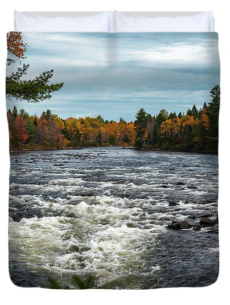 Kennebec River Duvet Cover