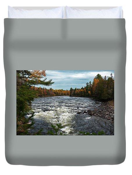Kennebec River Duvet Cover