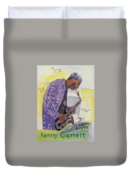 Kenny Garrett Duvet Cover