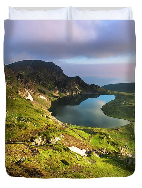 Kidney Lake Duvet Cover