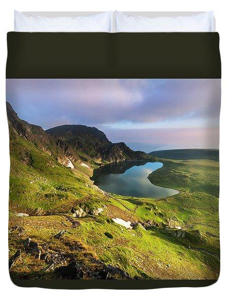 Kidney Lake Duvet Cover