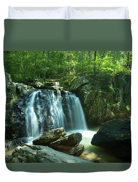 Kilgore Falls In Summer Duvet Cover