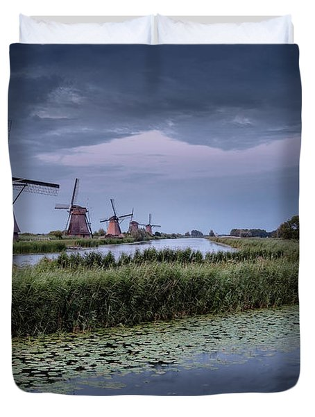 Kinderdijk Dark Sky Duvet Cover