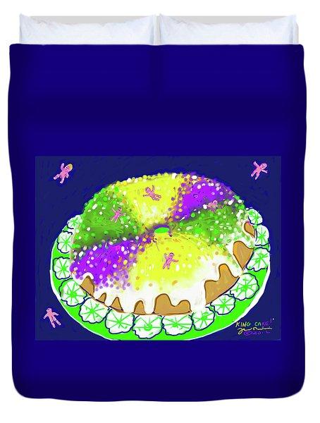 King Cake Duvet Cover