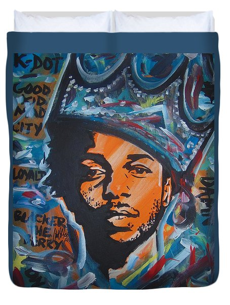 King Lamar Duvet Cover