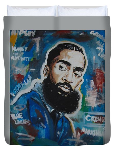 King Nipsey Duvet Cover