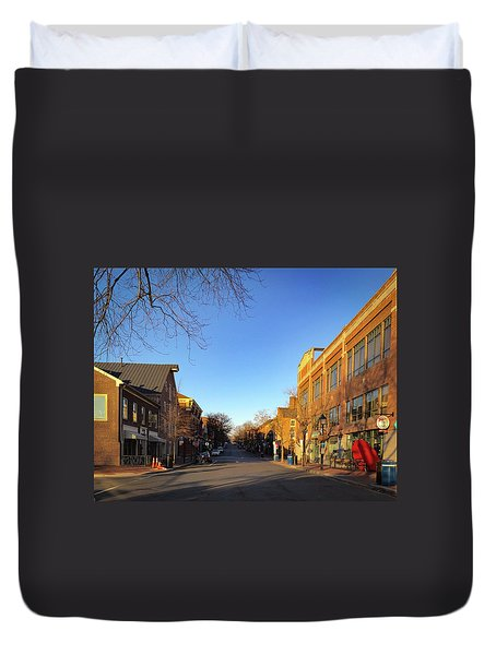 King Street Sunrise Duvet Cover