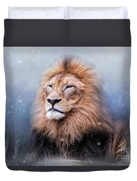 King Winter Duvet Cover