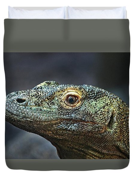 Komodo Dragon Duvet Cover