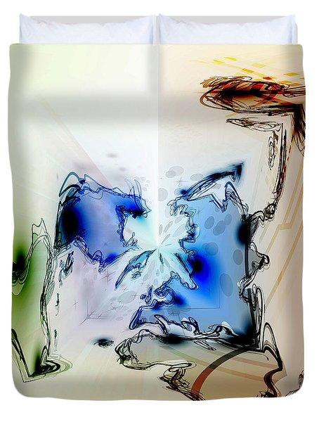 Kooky Abstract Duvet Cover