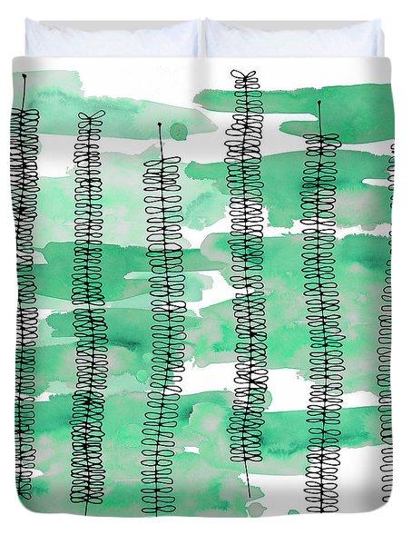 Kowhai Watercolour 2 Duvet Cover