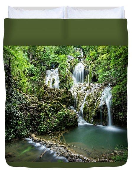 Krushunski Waterfalls Duvet Cover