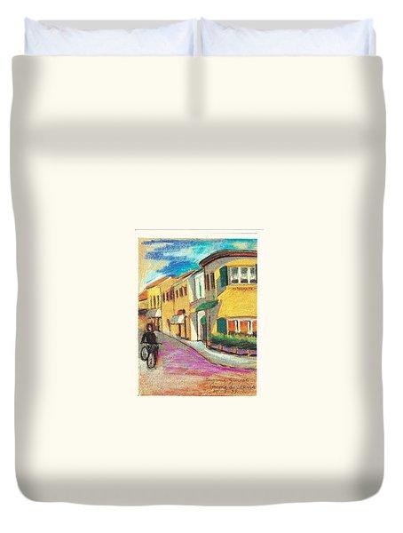 La Bichicletta Duvet Cover